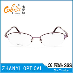 Latest Design Beta Titanium Eyeglass Eyewear Optical Glasses Frame for Woman (8309) pictures & photos