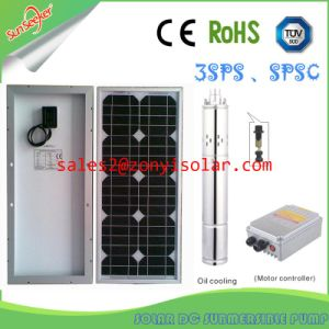 3inlet&180m Head of Solar Centrifugal Pump with Solar Panel Connect pictures & photos
