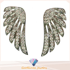 Fashion Jewelry of Angel′s Wing Brings You Flying High up to Your Dream 925 Sterling Silver Earring (E6226) pictures & photos