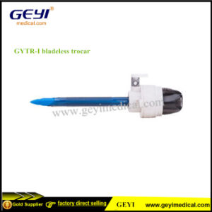 Disposable Bladeless Medical Trocar Cannula Surgical Trocars pictures & photos