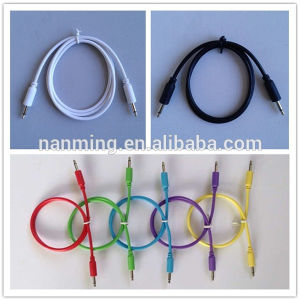 """3.5mm 1/8"""" Modular Patch Cables 6.35mm 1/4"""" Patch Cables Cords pictures & photos"""