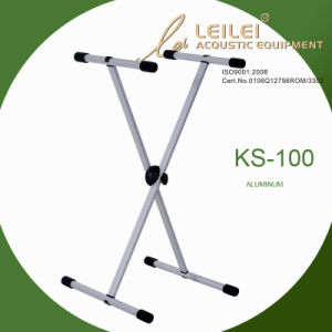 Knock-Down Single X Keyboard Stand/Ks-100 pictures & photos