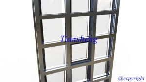 Curtain Wall, Glass Curtain Wall, Exposed Frame Curtain Wall pictures & photos