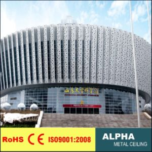 Aluminum Metal Outdoor Exterior Decorative Carved Wall Claddings pictures & photos