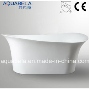 New Design Acrylic Whirlpool Bathroom Tub (JL628) pictures & photos