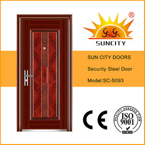 Cheap Safety Iron Main Door Designs (SC-S093) pictures & photos