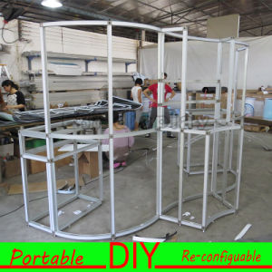 Aluminum Frame Portable Exhibition Booth Stand pictures & photos