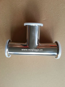 304/316L Sanitary Stainless Steel Clamped Equal Tee pictures & photos