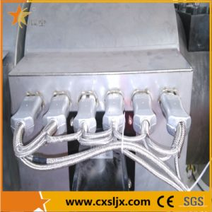 Conical Double Screw Extruder for PVC Profile pictures & photos