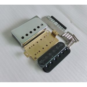 Quality Bobbin Brass Cover Lp Guitar Pickup Kits pictures & photos