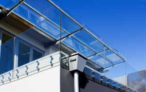 Frameless Toughened Glass Balustrade (PR-1037) pictures & photos