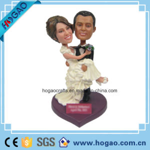 Polyresin Wedding Gift Bobblehead (H005) pictures & photos