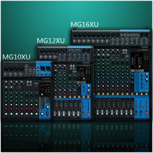Mixing Console / Mixer /Mg10xu/Mg12xu/Mg16xu pictures & photos