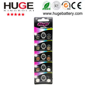 1.55V Silver Oxide Battery Watch Battery 371 Sr920sw pictures & photos