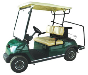 Battery Operated 2 Seaters Electric Hotel Cart pictures & photos