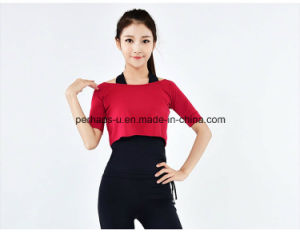 Fashion Quickly Dry Yoga Wear Women Clothes Fitness Wear pictures & photos