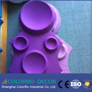 3D Colorbo Polyester Fiber Acoustic Panel pictures & photos