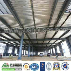 Big Large Span Prefabricated Steel Structure Workshop Building pictures & photos