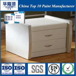 Hualong White Leather Effect PU Furniture Paint (HJ4602) pictures & photos