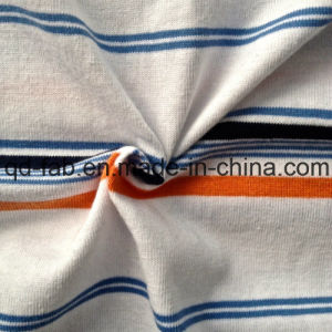 CVC Yarn Dyed Stripe Jersey (QF13-0663) pictures & photos