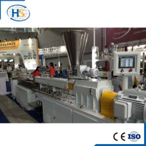 Carbon Black Plastic Pelletizing Extrusion Line pictures & photos