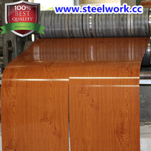 New Product Wooden Grain Pattern Steel Coil (CC-15)
