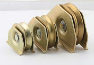 Hot and Popular Double Pulley Gate Wheels for Gate Hardware pictures & photos