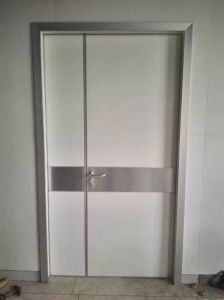 Double Swing Plywood Hospital Door Manufacturers pictures & photos