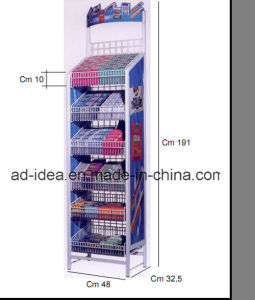 Six Layers Gum Display Stand/Exhibition Stand/Advertising Stand (DR-30) pictures & photos