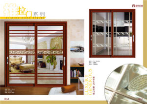 Good Selling Aluminium Profile Sliding Door for Kitchen pictures & photos