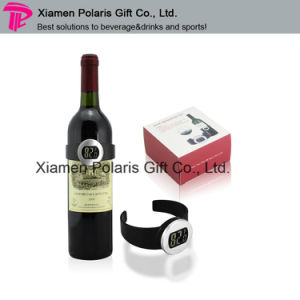 Elegant Portable LED Digital Wine Thermometer pictures & photos