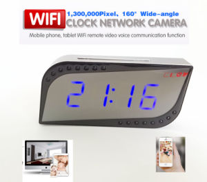WiFi Camera Clock Hidden IP Network IR Monitor 720p H. 264 pictures & photos