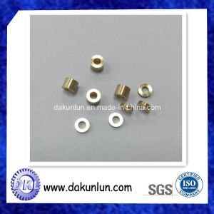 CNC Lathing Spacer Brass with Zinc Plating