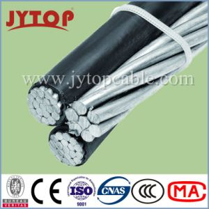 ASTM Standard Triplex Service Drop Overhead Transmision AAC/AAAC/ACSR ABC Aluminum Cable pictures & photos