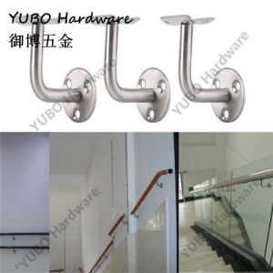 Stainless Steel Handrail Glass Clamp Railing Wall Bracket Glass Support
