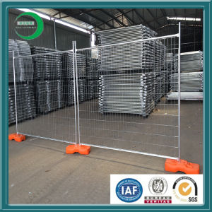 Steel Fence Post Base Plate for Temporary Fencing Panels pictures & photos