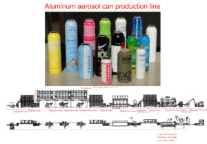 Aluminum Cans Production Line pictures & photos