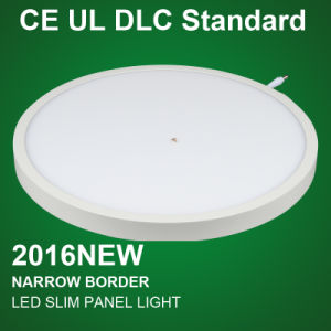 Round Mounted Square LED Panel Light with CB Bis Saso Certification