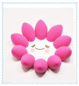 Wholesale Market Cosmetics Colorful Make up Sponge pictures & photos