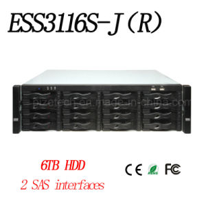 16 Hdds Sas Storage Cabinet{Ess3116s-J (R) } pictures & photos