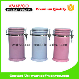 Home Decorative Various Color Small Ceramic Jar pictures & photos