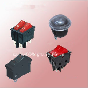 Rocker Switch/Push Button Switch/ Torch Light Switch pictures & photos