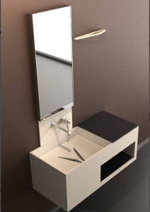Solid Surface Bathroom Furniture pictures & photos