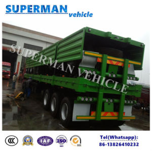 40FT Utility Tri-Axle Bulk Cargo Storehouse Container Truck Semi-Trailer pictures & photos