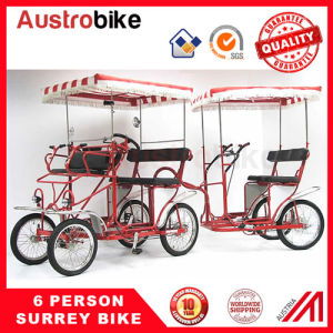 Surrey Bike 8 Person Surrey Bike 12 Person Bicycle Quadricycle Bike pictures & photos