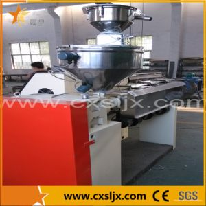Sj Series Single Screw Extruder Used for PP PE PPR PC Per Pipe Production pictures & photos