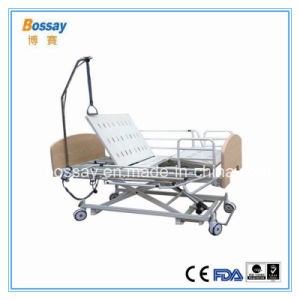 Adjustable Nursing Bed with 3 Functions Medical Bed Care Bed pictures & photos