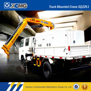 XCMG Hot Sale Sq2zk1 2ton Folding-Arm Truck Mounted Crane pictures & photos