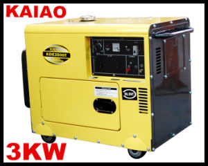 Portable Generator for Africa Market 3kw 5kw 6kw Silent Generator pictures & photos
