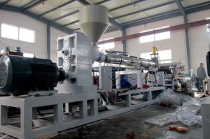 Single Screw Plastic Sheet Extruder Machine (HY-670) pictures & photos